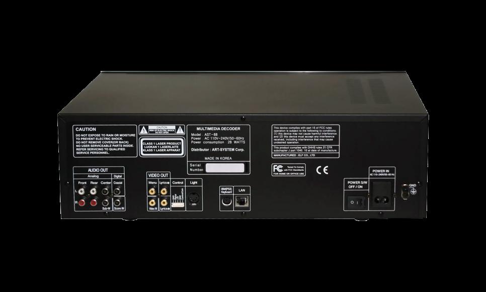 Профессиональная караоке-система AST-88
