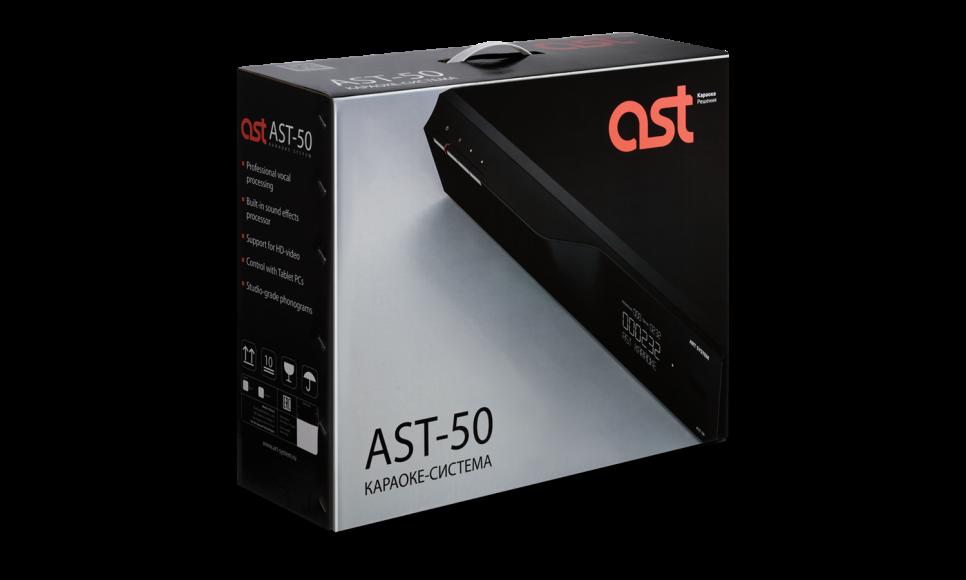 Профессиональная караоке-система AST-50